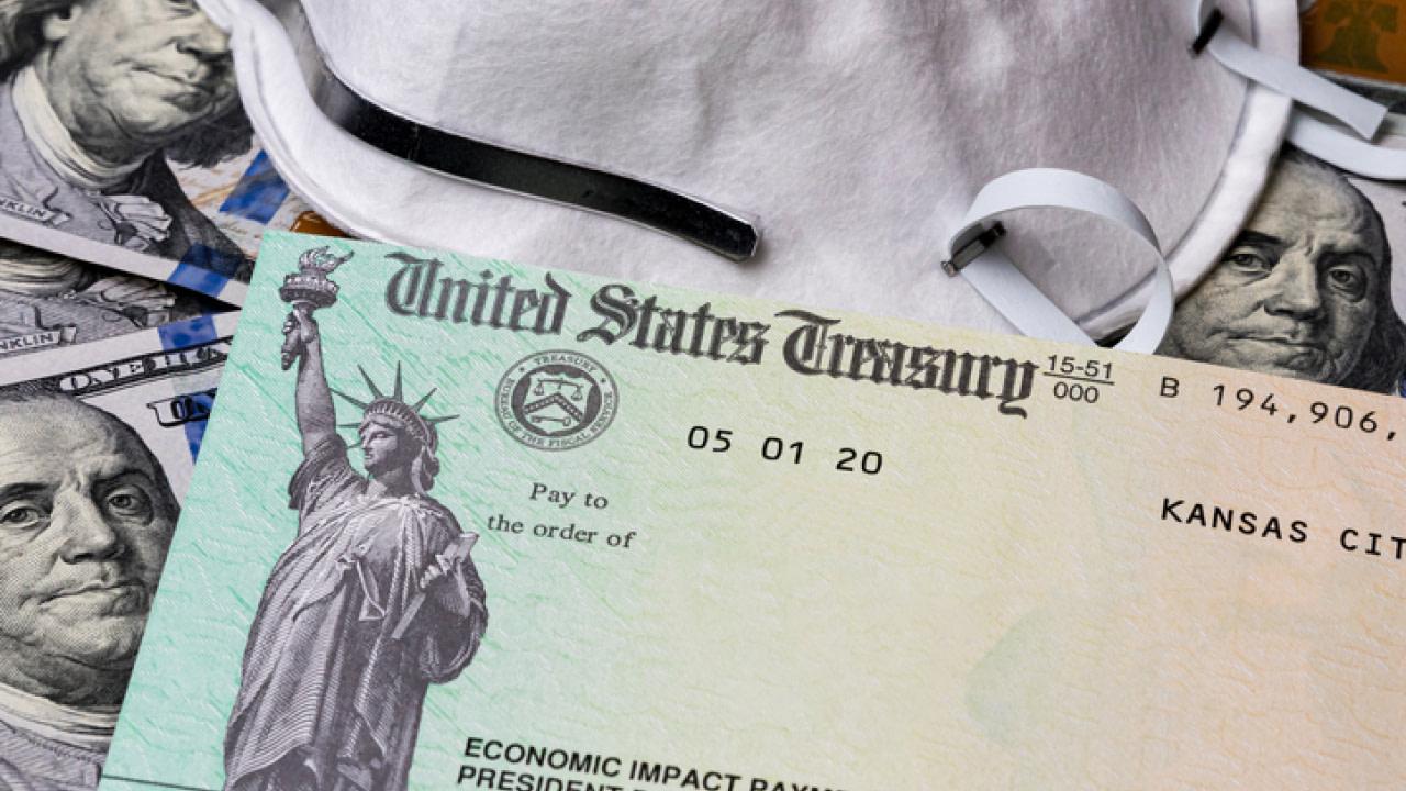 A second stimulus check