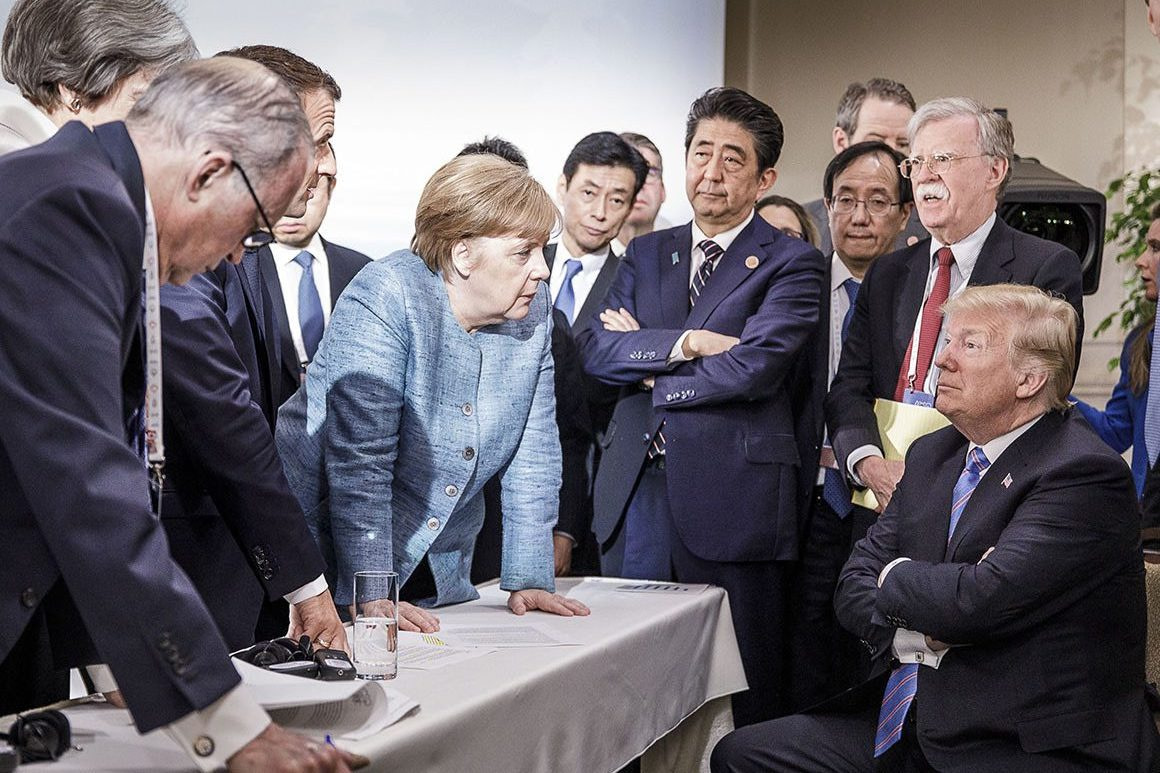 Macro Leads G7 Summit